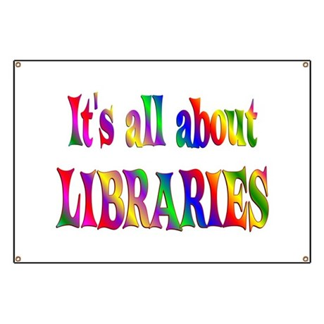 About Libraries Banner