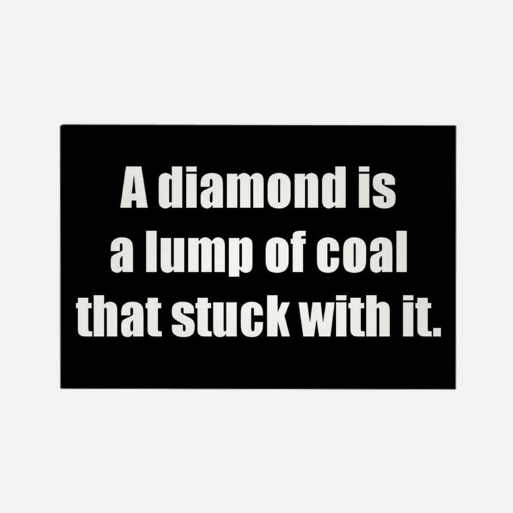 A Diamond (Rectangle Magnet)
