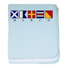 Marco Island baby blanket