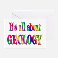 About Geology Greeting Card