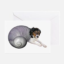 Shell Dog Greeting Card