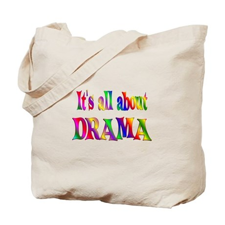 About Drama Tote Bag