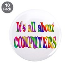 """About Computers 3.5"""" Button (10 pack)"""