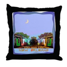 New Orleans Home Sweet Home i Throw Pillow