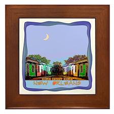 New Orleans Home Sweet Home i Framed Tile