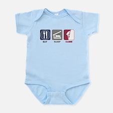 Eat Sleep Climb - Man2 Infant Bodysuit