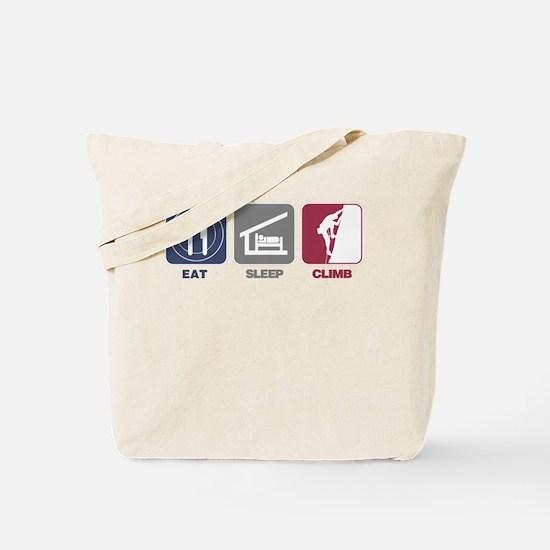 Eat Sleep Climb - Man2 Tote Bag