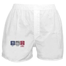 Eat Sleep Law School Boxer Shorts