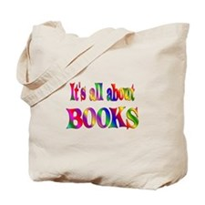 About Books Tote Bag