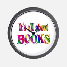 About Books Wall Clock
