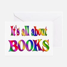 About Books Greeting Card