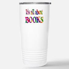About Books Travel Mug
