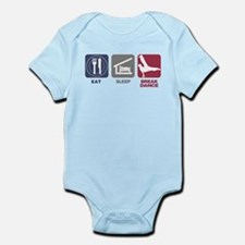 Eat Sleep Break Dance Infant Bodysuit