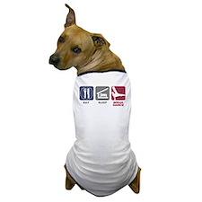 Eat Sleep Break Dance Dog T-Shirt