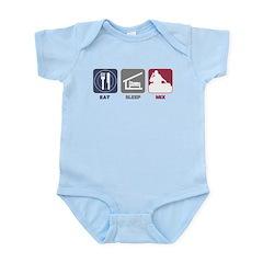Eat Sleep Mix Infant Bodysuit