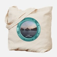 Cabo Sunset Porthole Tote Bag