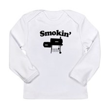 Smokin' - Barbecue Long Sleeve Infant T-Shirt