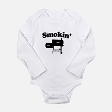 Smokin' - Barbecue Long Sleeve Infant Bodysuit