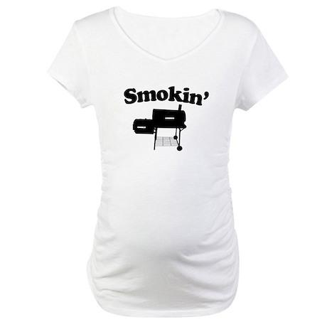 Smokin' - Barbecue Maternity T-Shirt