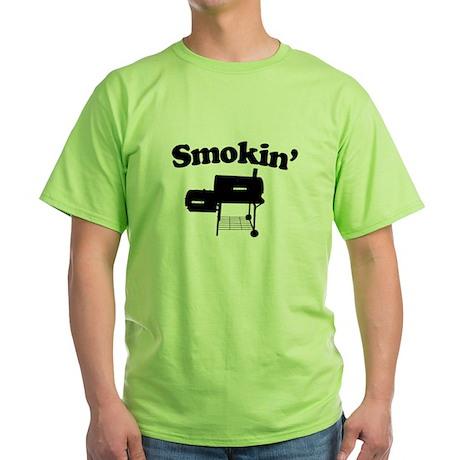 Smokin' - Barbecue Green T-Shirt