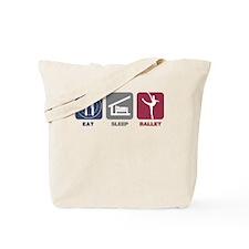 Eat Sleep Ballet Girl 3 Tote Bag