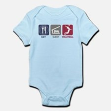 Eat Sleep Volleyball - Woman Infant Bodysuit