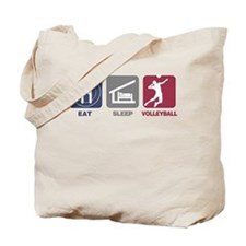 Eat Sleep Volleyball - Man Tote Bag