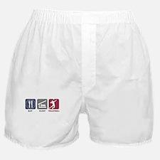 Eat Sleep Volleyball - Man Boxer Shorts