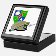SOF - Ranger DUI - Beret Keepsake Box