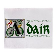 Adair Celtic Dragon Throw Blanket