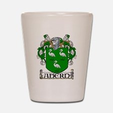 Ahern Coat of Arms Shot Glass