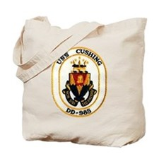 USS CUSHING Tote Bag