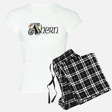 Ahern Celtic Dragon Pajamas