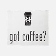 Got Coffee? Throw Blanket