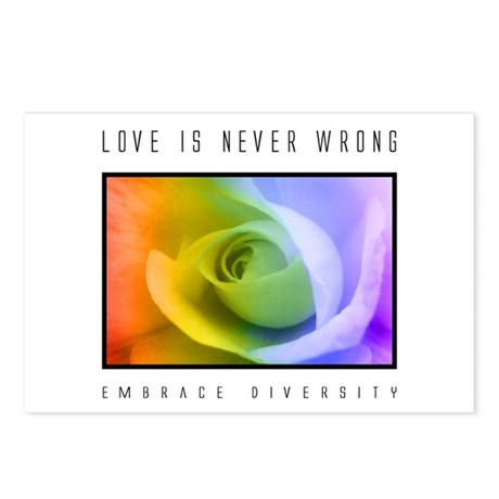 Diversity Postcards (Package of 8)