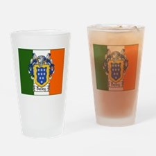 Bailey Arms Tricolour Drinking Glass
