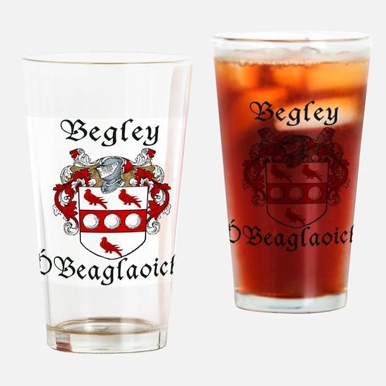 Begley in Irish/English Drinking Glass