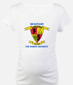 3rd Battalion 5th Marines with Text Shirt