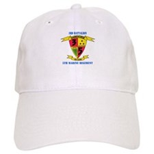 3rd Battalion 5th Marines with Text Baseball Cap