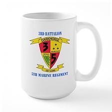 3rd Battalion 5th Marines with Text Mug