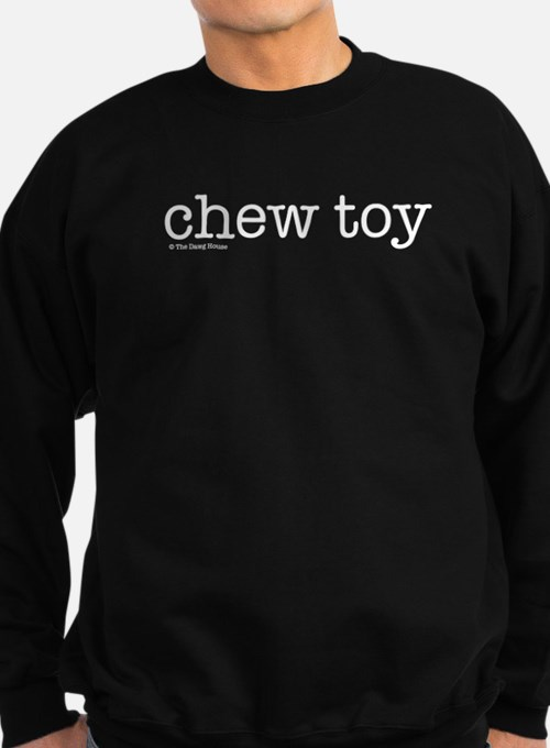 Chew Toy - Black Sweatshirt