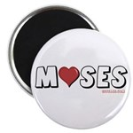 I Love (Heart) Moses Magnet