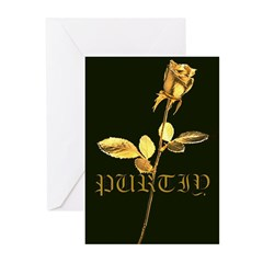 Purity Rose Greeting Cards (Pk of 10)