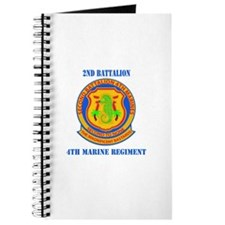 2nd Battalion 4th Marines with Text Journal