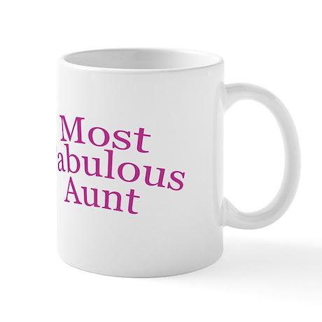 Most Fabulous Aunt Mug