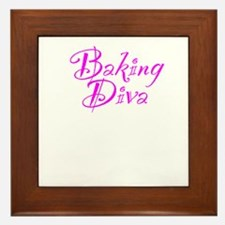 Baking Diva Framed Tile