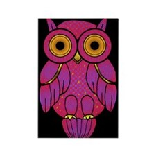 My$t Owl Rectangle Magnet (10 pack)
