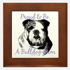 Bulldog 3 Framed Tile
