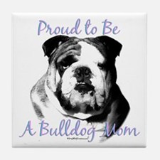 Bulldog 3 Tile Coaster