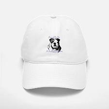 Bulldog 3 Baseball Baseball Cap